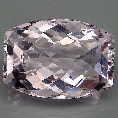 Charming!!! 25.7ct. Soft Pink Kunzite Fancy&Checkerboard Table