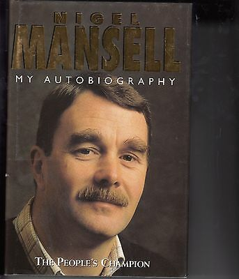 Nigel Mansell signed (personalised) Autobiography