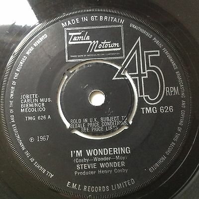 Stevie Wonder-I'm Wondering/every Time I See You I Go Wild-Uk Tamla Motown