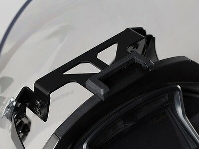 SW Motech GPS mount for cockpit. Black. Honda VFR800X Crossrunner 2015 - 2016