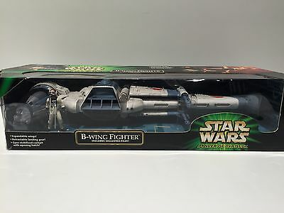 Star Wars B-wing Fighter Power of the Jedi 2001 Sealed