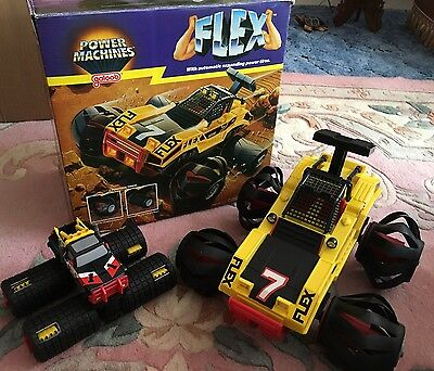 Power Machines Flex Force Truck Lewis Galoob Toys Inc 1985 Great Cond