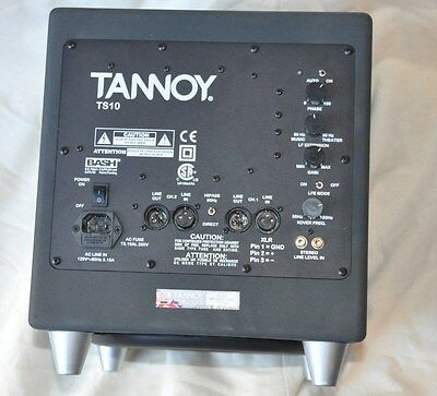 Tannoy TS10 Powered Subwoofer Studio Power Amp