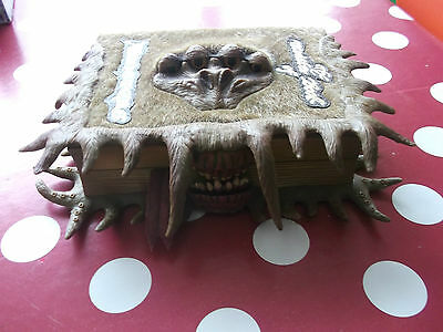 """Harry Potter The Monster Book of Monsters Tomy Electronic Keepsake Book 11"""" 2010"""