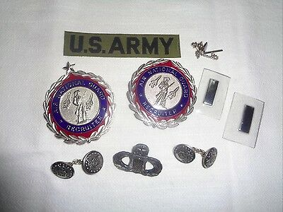 Mixed LOT of VINTAGE MILITARY U. S.  ARMY - AIR FORCE - Buttons Insignia & More