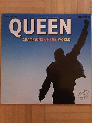Queen ‎– Champions Of The World Made in Heaven  Rare  Laserdisc