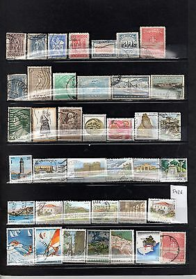 Lot Timbre Europe Grece