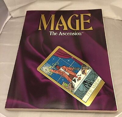 Mage The Ascension Core Rulebook WW4000 WHITE WOLF Roleplaying RPG. Magic.