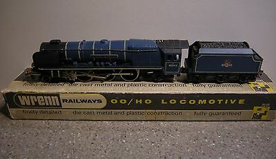 WRENN W2229 City Of Glasgow 4-6-2 Locomotive Blue