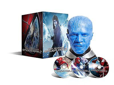 The Amazing Spider-Man 2 - Coffret collector LUMINEUX  tête d'Electro
