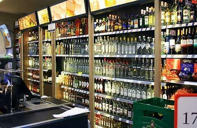 Retail and Shop Shelving, Wall bay,Alcohol Shelves/lights/top quality