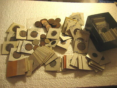 Coin Great Britain 1940s-1990s lot of 142 coins,3 LB