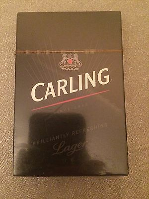Limited Edition Carling Playing Cards-Unopened
