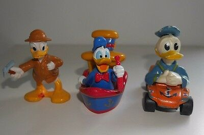 Matchbox Diecast Disney Donald Duck Boat Car & Plastic Figure Collection