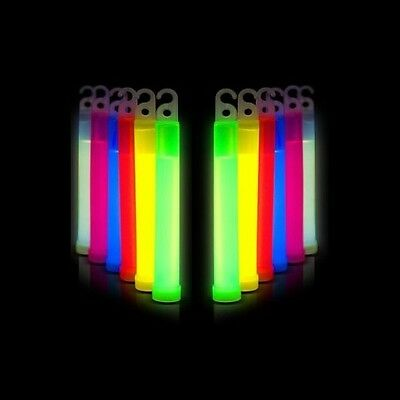 "6"" Glow Sticks long glow -Choice of colours- Glowsticks for diving and sports"