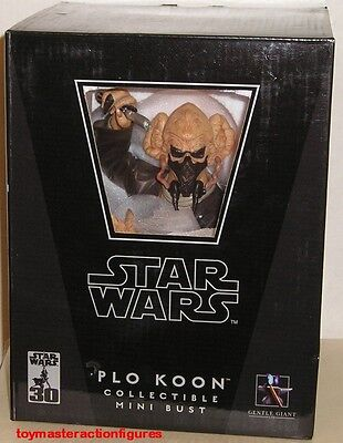 GENTLE GIANT 2007 STAR WARS (ROTS) PLO KOON COLLECTIBLE MINI BUST In Stock