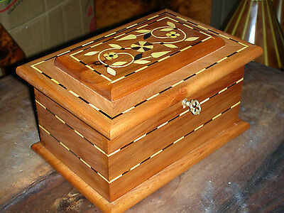 Handmade Thuya Burr Wood Jewellery Box