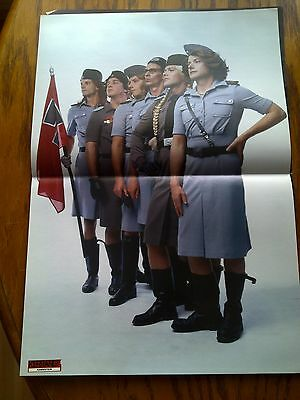 Rammstein In Uniform! + Biffy Clyro Double Page Poster from British Kerrang Mag