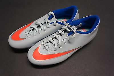 Nike Mercurial Vortex II FG Soccer Cleats Shoes 658575-484 size 8