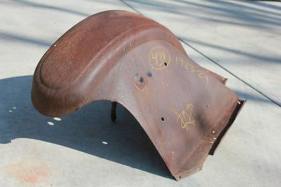 1923 1924 Chevrolet Front Fender Right Passenger Side 431