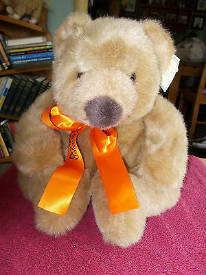 "Gorgeous Large Russ Teddy Bear Peanut Butter 16"" Plush Soft Free Uk P&p"