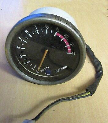 VINTAGE x 1000r/min REV COUNTER CLOCK