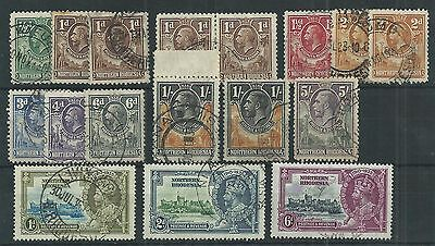 Northern Rhodesia GV-QEII Collection Mint & Used