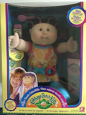 Cabbage Patch Kid Magic Touch ColorSilk Play Along