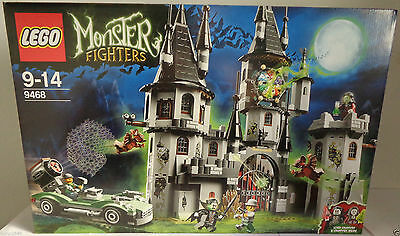 Lego Monsters Fighters 9468 Vampyre Castle New And Sealed !!!
