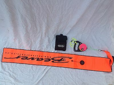 DSMB Delayed surface marker Buoy, Beaver Sport, Scuba Gear, Swimming, Snorkel