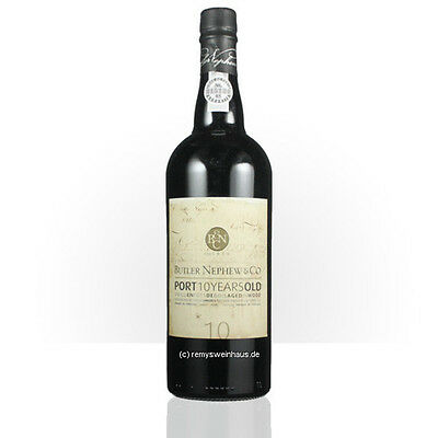 (1L=€50.53) Butler Nephew & Co Tawny Port 10 Years Old 0.75  Liter