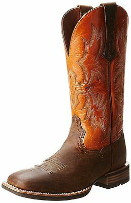 Ariat Mens Tombstone Western Boot, Distressed Brown/Sunnyside, 11 M US
