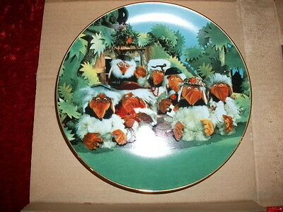 The Wombles Of Wimbledon Childrens Tv  Collectors Plate