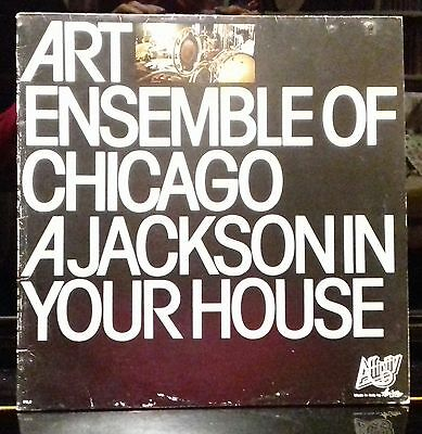 Lp -Art Ensemble Of Chicago A Jackson In Your House- Affinity Fa 3