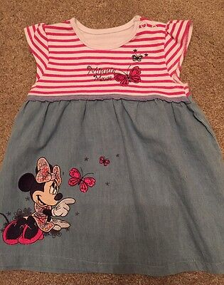 Minnie Mouse 3-6 Months Baby Girls Dress