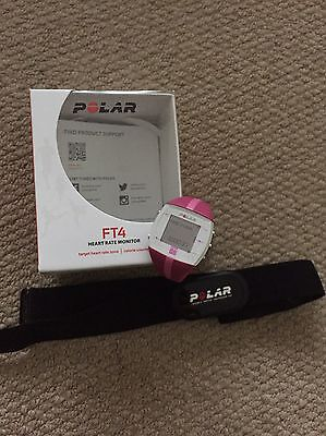 Polar FT4 watch & heart rate monitor