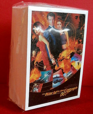 JAMES BOND - The World Is Not Enough, COMPLETE 72 Card Base Set