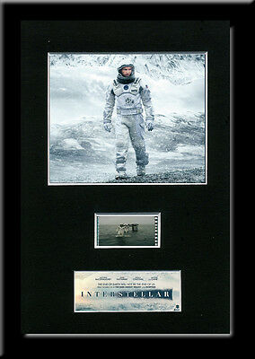 Interstellar Framed 35mm Mounted Film cells - filmcell movie
