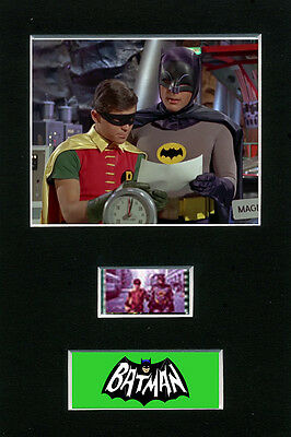 Mounted Film Cells Display -Batman - The Original 1966 Movie film memorabilia