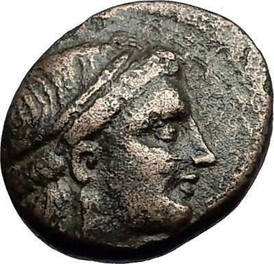 ODESSOS in THRACE 281BC Youth & Great God Derzelas Ancient Greek Coin i58946