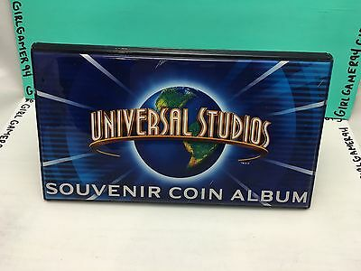 Universal Studios Elongated/Smashed Penny Passpot/Album - Holds Over 50!