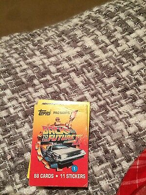 back to the future trading cards