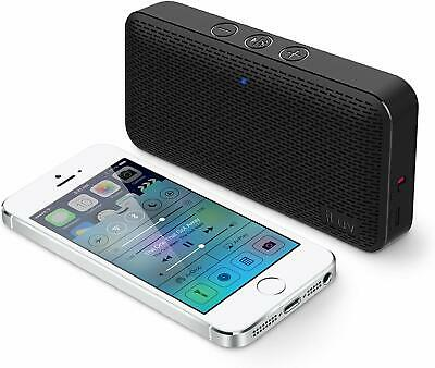 Portable Wireless Bluetooth Speaker Ultra Slim Pocket-Sized Rechargeable Battery