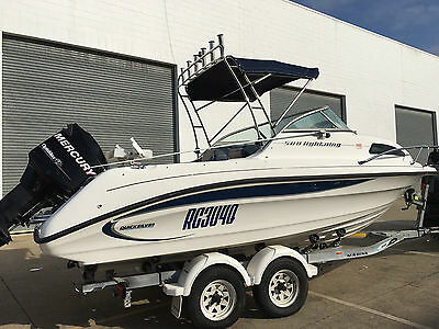 2007 Quicksilver 580 Lightning Fishing Boat And Trailer. Finance Available!!!!