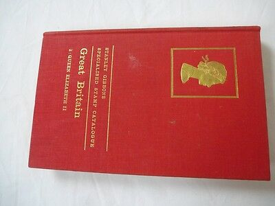 STANLEY GIBBONS GREAT BRITAIN SPECIALISED CATALOGUE Qn ELIZABETH II, 1st EDITION