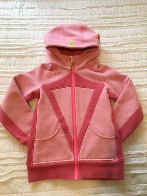 Ivivva Hoodie Girls size 8 pink