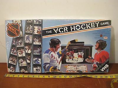 Vintage Game - The VCR HOCKEY GAME 1987 - Brand New Factory Sealed