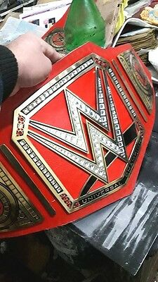 Wwe World Heavy Weight Championship Leather Belt