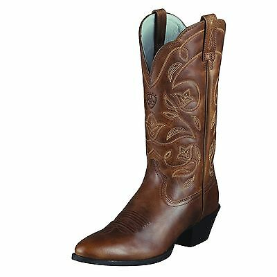 ARIAT - Women's Heritage Western R-Toe Boots - Russet Rebel - ( 10001015 ) - New