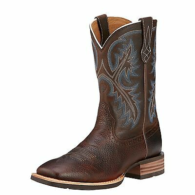 ARIAT - Men's Quickdraw Boots - Brown Oiled Rowdy - ( 10006714 ) - New